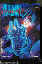 Wild ARMs Alter Code F Complete Guide data artbook OOP