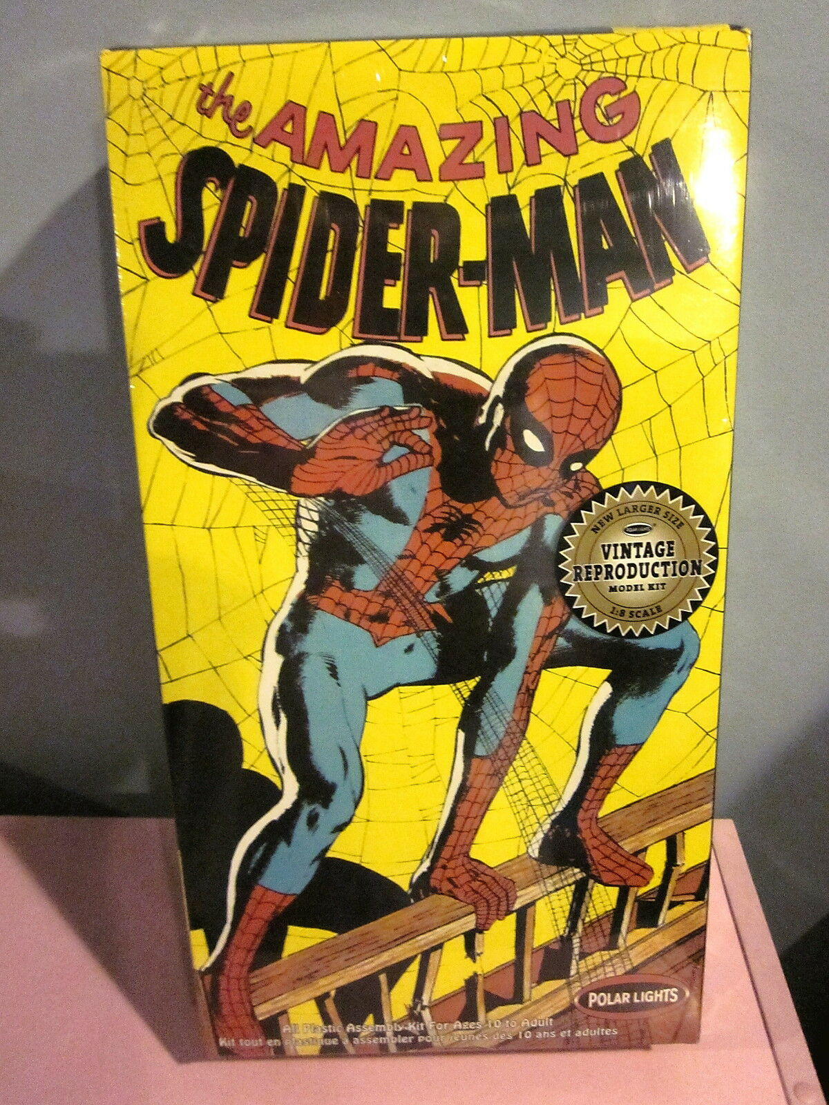 Polar ljuss The Amazing Spiderman 1  8 skala Kit 4100 Förseglade