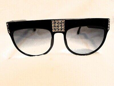 Analytisch 1980 Groß Französisch Sonnenbrille With 80 Sworovski Steine Neu Niemals Verkauft Einfach Und Leicht Zu Handhaben