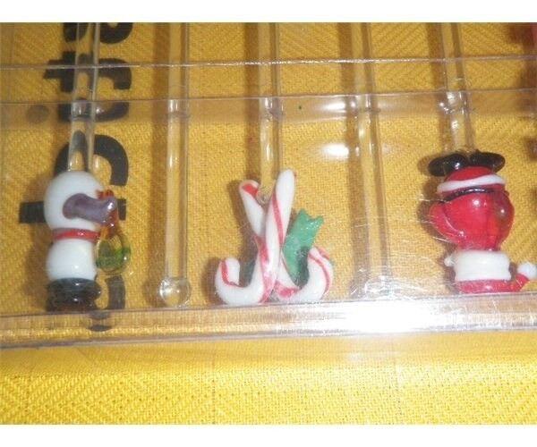 jule drinkspinde i glas