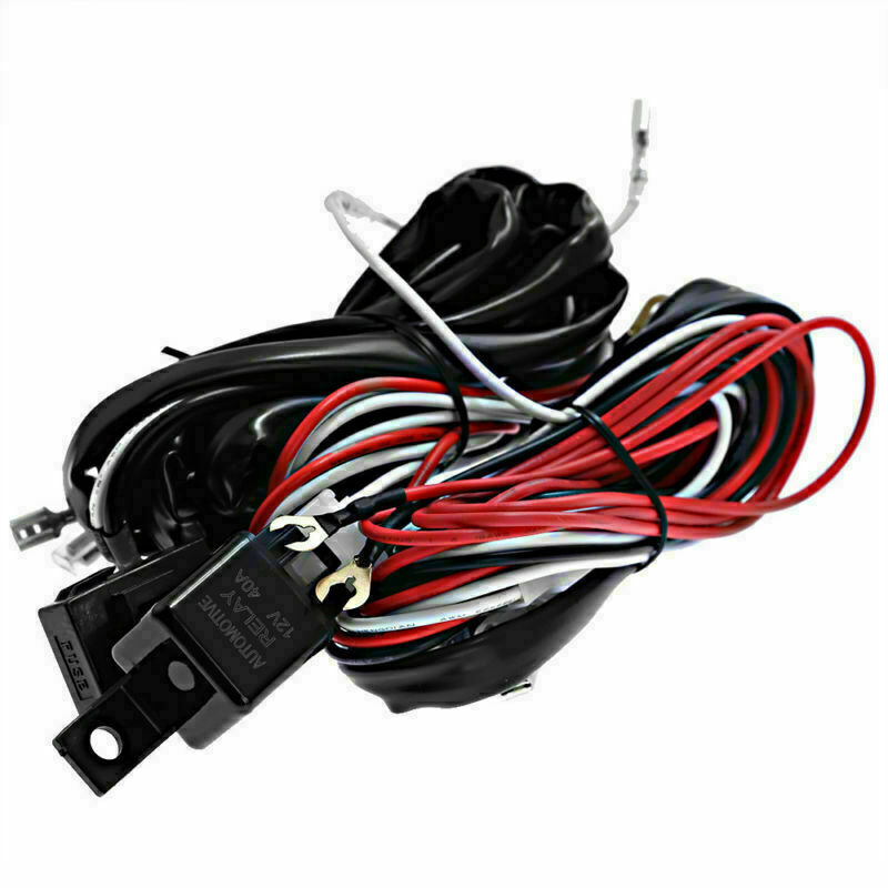 300w Wiring Harness Kit 12v 1 Lead LED Light Bar Laser Rocker Switch for  sale online | eBay
