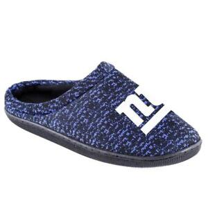 1052a2d8 Details about NFL Poly knit Cup Sole Slide Slippers New York Giants NEW