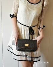Womens Calvin Klein Brown Cross body handbags Luggage purse