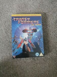 Transformers The Movie 30th Anniversary Edition [DVD] New Sealed UK Region 2