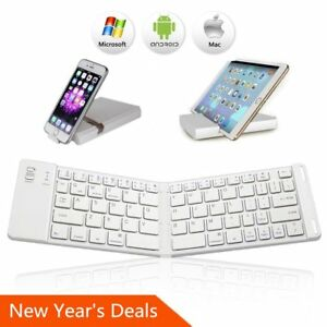 3edd063da57 Image is loading Bluetooth-Folding-Keyboard-IKOS-Ultra-Slim-Pocket-Size-
