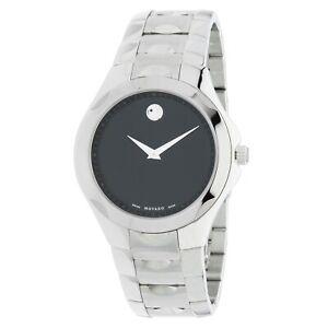 Movado 0606378 Men's Luno Black Museum Quartz Watch