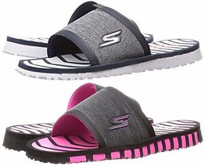 8d859490a8db Image is loading Skechers-Flip-Flops-Performance-Women-039-s-Go-