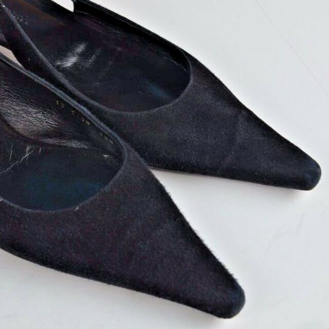 79fa8b30b65 L.K. Bennett Kitten Heel Ankle Strap Pumps Size 38.5 Spain 8 US Suede Career