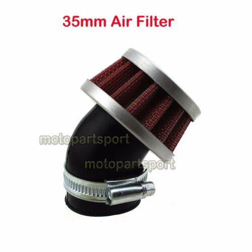 35mm Air Filter For CT70 SL70 XL70 CL70 C70 Motor Mini Bike Honda Trail 50 Z50
