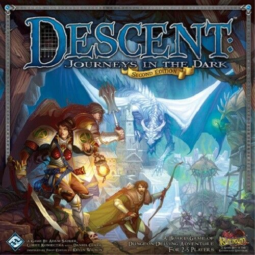 Descent    Journeys in the Dark Second Edition - Brand New ceb988