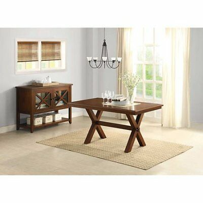 Br W Better Homes and Gardens Maddox Crossing Dining Table