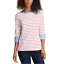 NEW-NAUTICA-WOMEN-039-S-3-4-CUFFED-SLEEVE-CHAMBRAY-CASUAL-TOP-VARIETY thumbnail 8