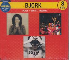 CD - Bjork NEW 3 CD's Debut Volta Medulla Oferta FAST SHIPPING !