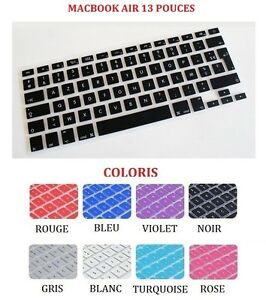 prot ge clavier silicone azerty protection pour macbook. Black Bedroom Furniture Sets. Home Design Ideas