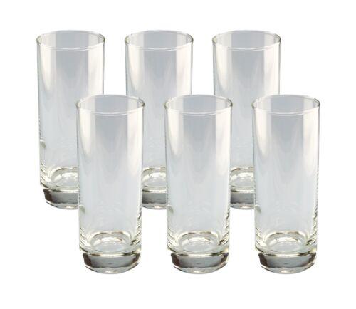 6er Set Longdrinkglas Gina 33cl Glas Gläser Trinkglas Saftgläser Wassergläser