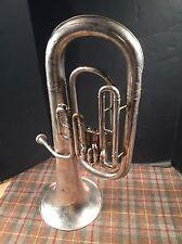 CONN Vintage E Flat Alto Horn Overall Good Condition W/ Mouthpiece Elkhart