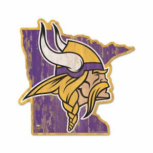 Minnesota-Vikings-Holzschild-NFL-Football-Bundesstaat-USA-Amerika