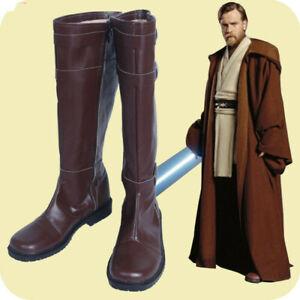 Star Wars Obi Wan Kenobi Boots Cosplay Shoes