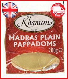 Khanum-Plain-Poppadoms-200-g-Pack-of-10
