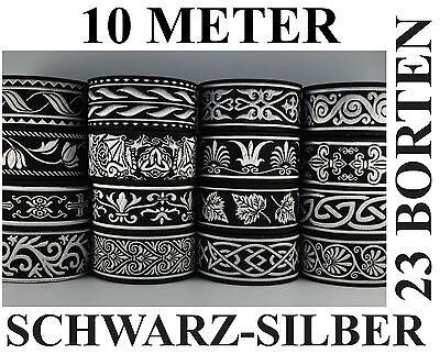10 M Borte 33mm breit Mittelalter Borten freie Auswahl  Gewandung 35119 0,79 €//m
