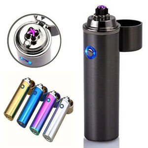 Details About Luxury Rechargeable Windproof Electric Tesla Plasma Usb Dual Arc 4 Cross Lighter