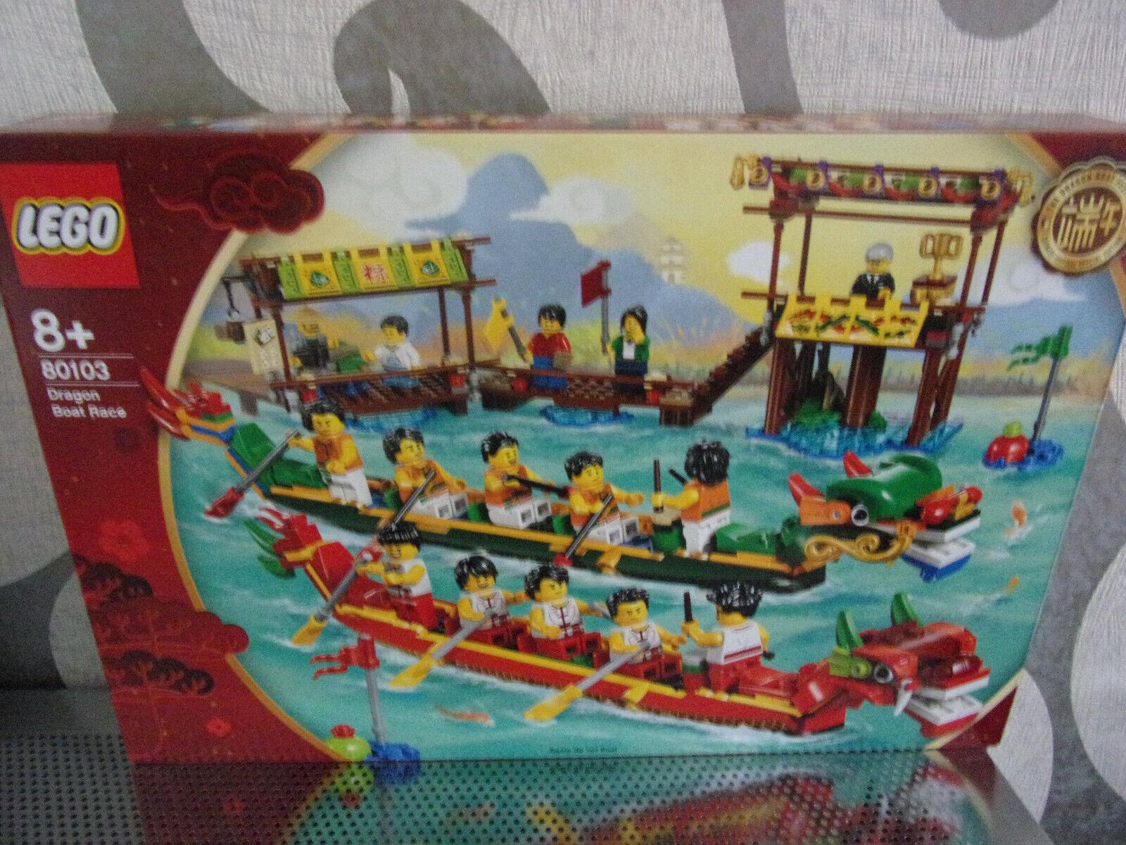 LEGO 80103 Dragon Boat  Race (Drago BARCA CORSA) - NUOVO & OVP  ecco l'ultimo