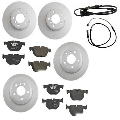 BMW E70 E71 X5 X6 Front and Rear Vented Brake Disc Rotors Kit OPparts NEW