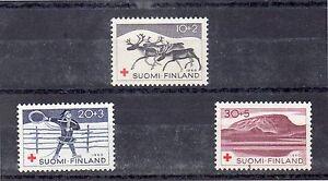 Finlandia-Cruz-Roja-Serie-del-ano-1960-DH-518