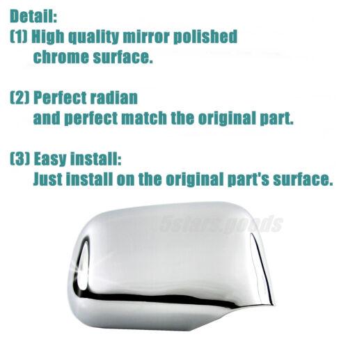 Upgrade Accessories Chrome Molding Covers Trims For 1997-2001 Honda CR-V SUV