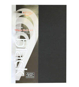 A3-Black-White-Card-20-Sheets-160-gsm-Paper-For-Multi-Purpose-Use