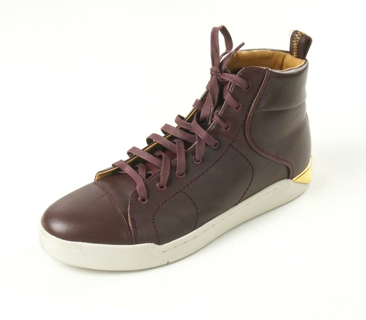 Nuovo Diesel Bordeaux pelle oro Tempus Marchesa Caviglia Alta scarpe da ginnastica Alla Moda | Materiali Di Alta Qualità  | Uomini/Donna Scarpa