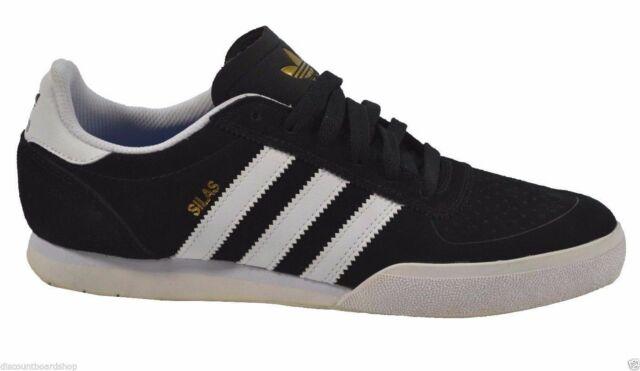 68a62a3b89357a ... low price adidas silas slr black white skateboarding g98074 240 mens  shoes 498d7 97ce5