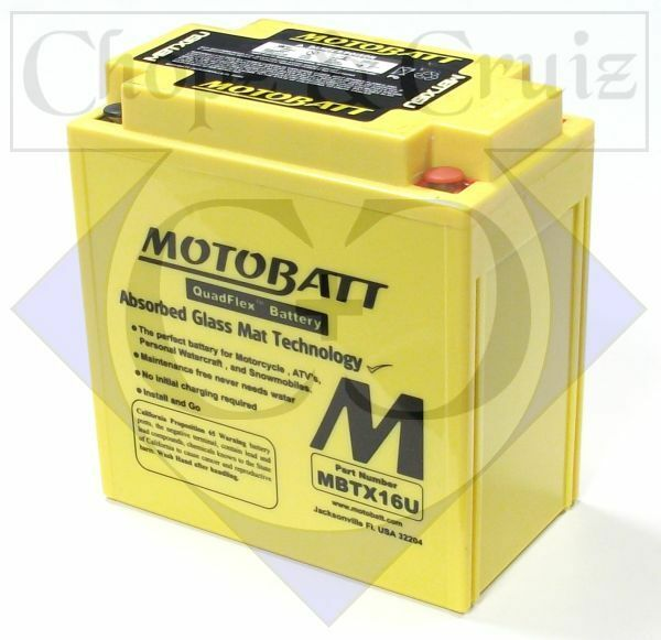 Batterie - HIGH POWER - MotoBatt - 19 Ah - AGM - wartungsfrei