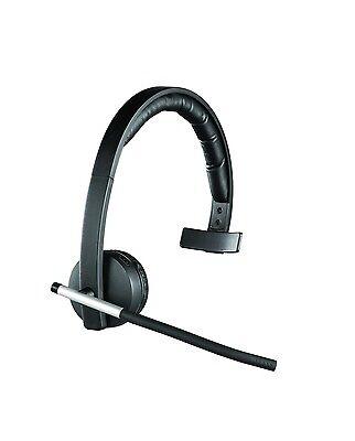 Logitech H820e Mono Single Ear USB Wireless Headset DECT Call Center Headset