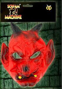 Scream-Machine-de-marque-DEVIL-avec-klaxon-Masque-pour-fete-Halloween-effrayant