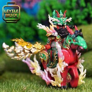 ⎡LEYILE BRICK⎦ Pre-order Custom Three Kingdoms Zhou Yu Lego Minifigure Set LAB9