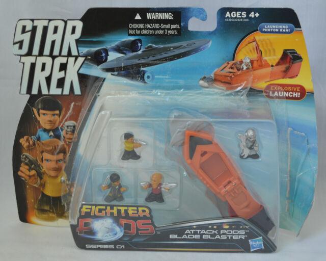 Star Trek Fighter Pods Blade Blaster Attack Pods Launcher