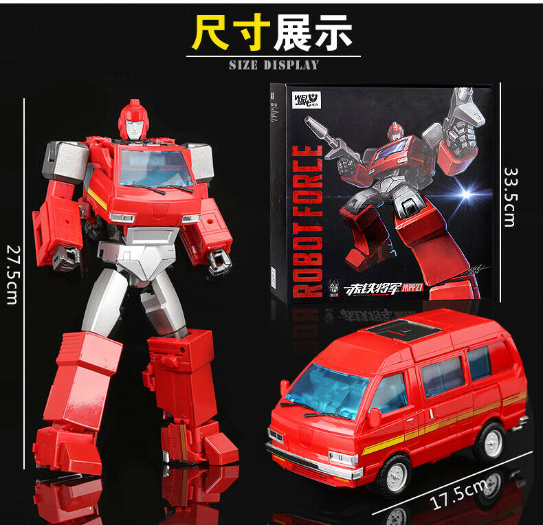 Fuerza Robot de transformación Weijiang dicast MPP27