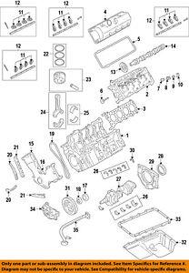 FORD OEM 11-12 F-350 Super Duty-Engine Oil Pan Gasket BC3Z6710B