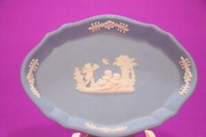 Wedgwood-Blue-Jasperware-small-Plate-4-5-Inch