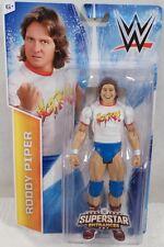 WWE RODDY PIPER FIGURE SUPERSTAR ENTRANCES TSHIRT  WALMART EXCLUSIVE WWF HOT ROD