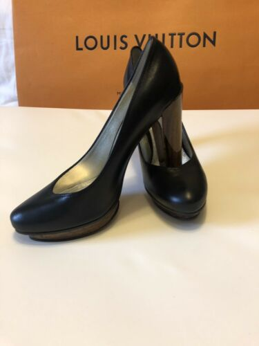 37 Wooden Ive Black Jacobs Marc Bennett G Platform Lk Heels With Heel chloe q1H0w0X
