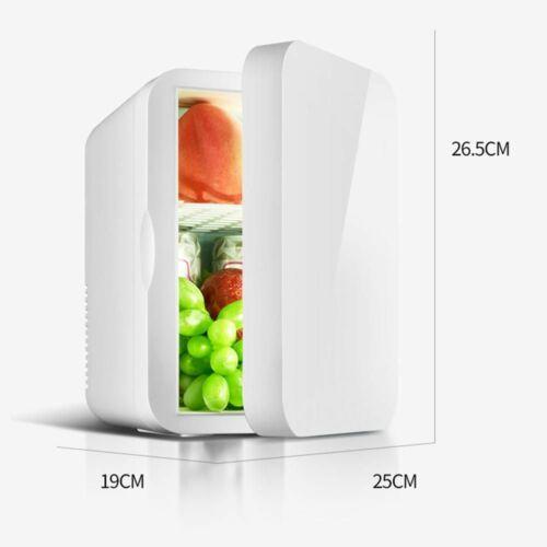 Mini réfrigérateur 12 V Petit Voiture Réfrigérateur Simple 220 V porte voiture home dual-use Thermo