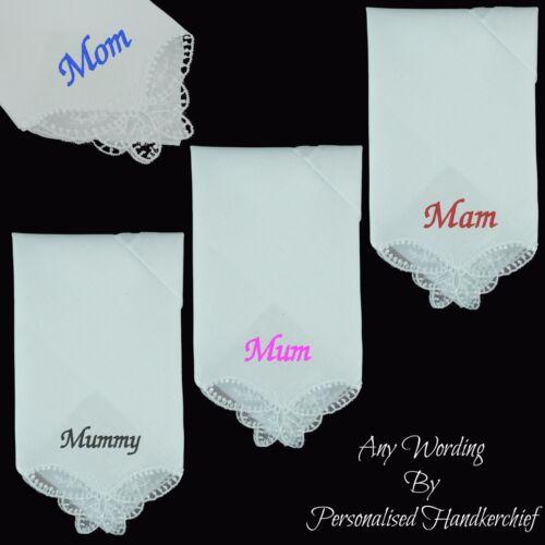 Maman ma Momie Maman personnalisé Mouchoir Tout Nom couleur Mouchoir Cadeau Mère