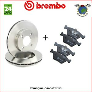 Kit-Dischi-e-Pastiglie-freno-Ant-Brembo-RENAULT-SCENIC-MEGANE-KANGOO-0l