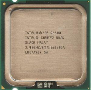 Intel Core 2 Quad CPU Q6600 2.4GHz/8M/1066 LGA775 SLACR
