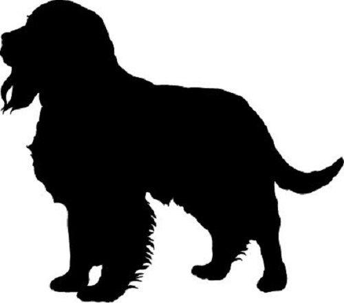 Dog Outline Black
