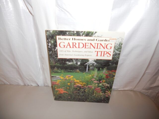Better Homes And Gardens - Gardening Tips (1996) paperback