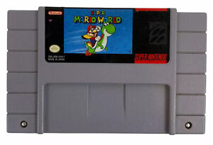 Super-Mario-World-SNES-Super-Nintendo-Original-Cart-Only-Tested-Free-Shipping