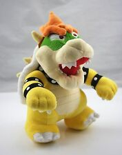 "Nintendo Super Mario 10"" Standing King Bowser Koopa Plush Toy Stuffed"